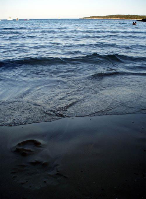 Pješčana plaža bez premca...